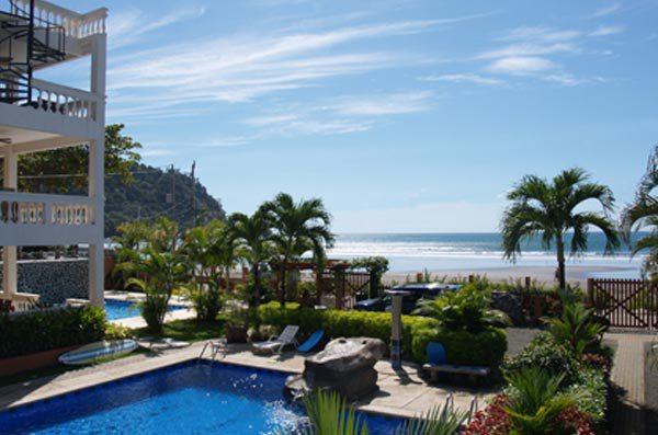 beach front hotel costa rica