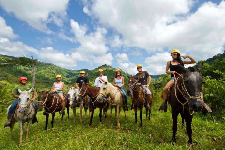 horse back riding jaco beach